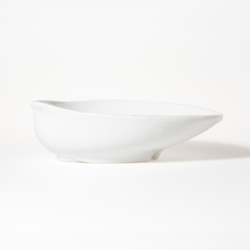 Lastra Oval Bowl Large White