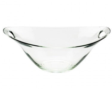 Two Handled Glass Bowl