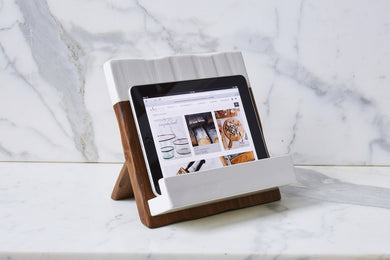 Mod Ipad/Cookbook Holder, White