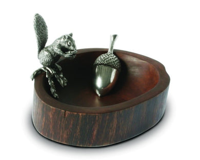 Squirrel Nut Bowl With Scoop