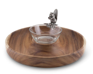 Squirrel Ring Serving Bowl