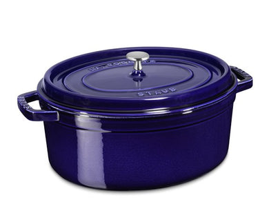 Oval Cocotte 7 Qt, Dark Blue