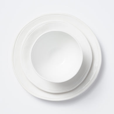 Fresh 3-Piece Place Setting, White