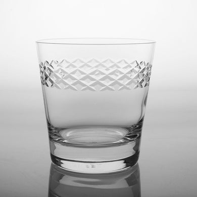 Diamond Double Old Fashioned Glass