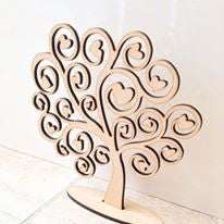 Wooden jewellery tree - Fred And Bo
