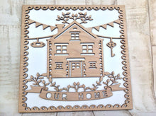 Our Home Laser Cut plaque - Fred And Bo