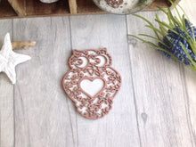 Owl laser cut plaque - Fred And Bo