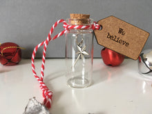 Mini Message Bottle- We Believe- Christmas Tree Ornament - Fred And Bo