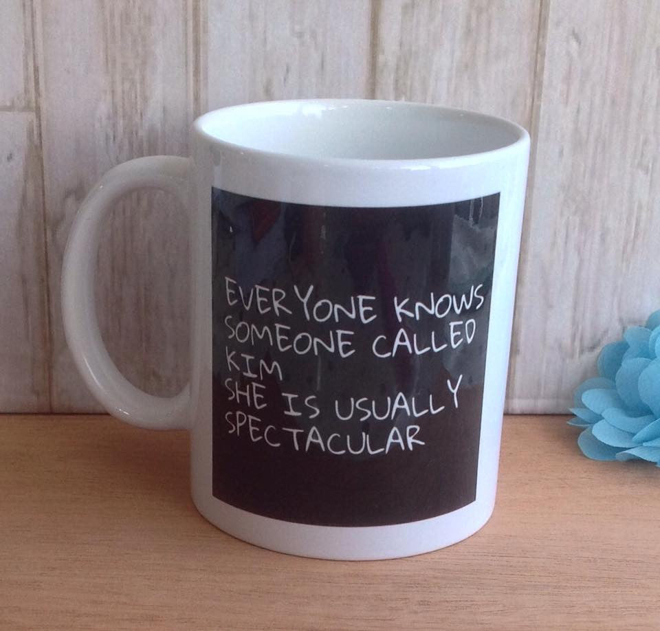 Everyone knows someone called..... shes usually spectacular funny ceramic mug - Fred And Bo