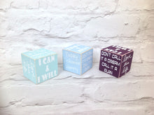Positive mantra wooden dice - Fred And Bo