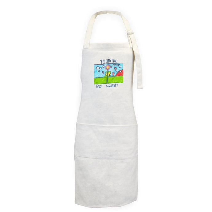 Adult Personalised Apron - Childs Drawing
