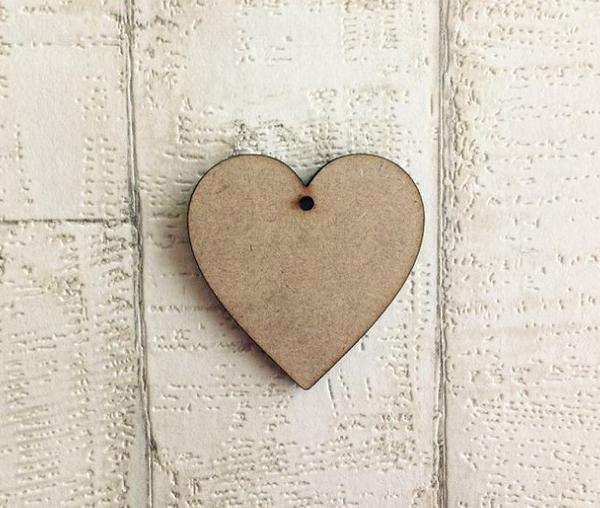 Classic Heart MDF - Fred And Bo