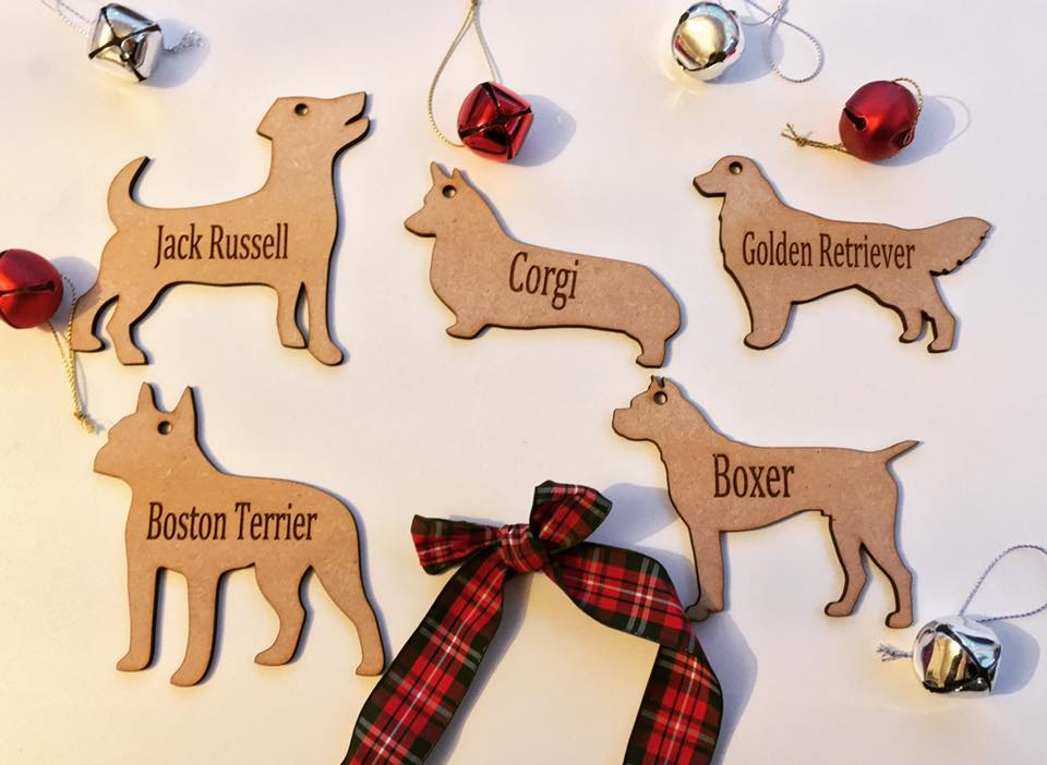 Personalised Dog Decoration - Cocker Spaniel - Fred And Bo