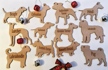 Personalised Dog Decoration - Lurcher - Fred And Bo