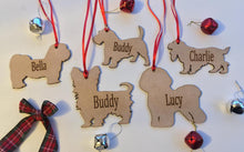Personalised Dog Decoration - Lhasa Apso - Fred And Bo