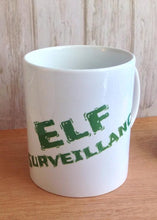 Elf surveillance ceramic mug - Fred And Bo