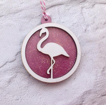 Flamingo bauble- Christmas decoration - Fred And Bo