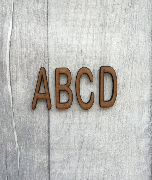 Arial rounded font MDF letters - Fred And Bo