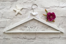 Wedding dress hanger white bride - Fred And Bo