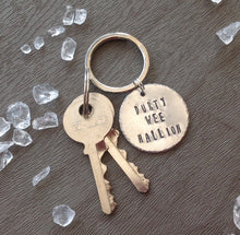 Durty wee hallion - Belfast slang - hand stamped key chain - Fred And Bo