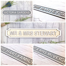 HOME SWEET HOME Railway street sign vintage style plaque - Fred And Bo