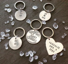 Yer a reet Bobby dazzler - Yorkshire slang - hand stamped key chain - Fred And Bo