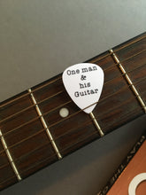 Guitar Pick- One man & his guitar (set of 3) - Fred And Bo