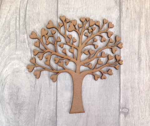 Laser cut family tree for crafters - Fred And Bo
