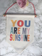 Hanging Banner Flag- You Are My Sunshine - Fred And Bo