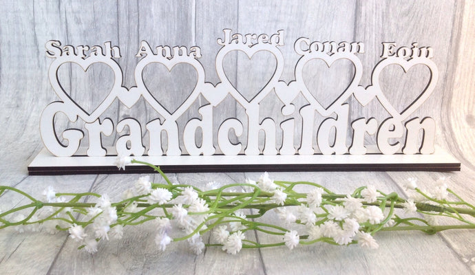Personalised grandchildren photo frame - Fred And Bo