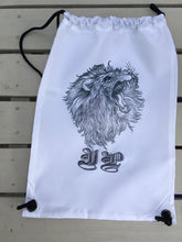 Lion tattoo style Personalised drawstring gym bag - - Fred And Bo