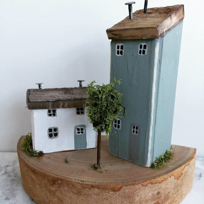 Driftwood houses - teach na hÉireann- #001 - READY TO SHIP - Fred And Bo