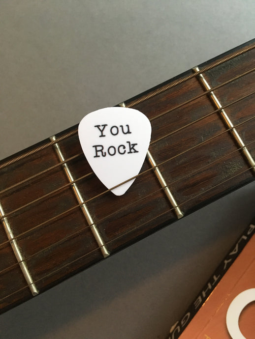 Guitar Pick- You Rock (set of 3) - Fred And Bo