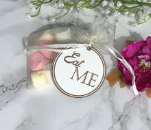 Wedding Favour Tag - Eat Me - Wooden wedding - Fred And Bo