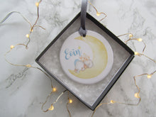 Ceramic New Baby Hanging Decoration - Fred And Bo