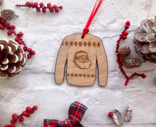 ?Christmas jumper hanging decoration - Fred And Bo