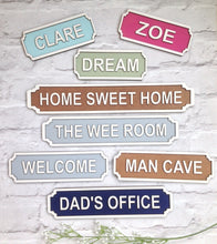DADS OFFICE Railway street sign vintage style plaque - Fred And Bo