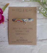 Liberty of London star charm bracelet - Susanna C Liberty fabric bracelet - Fred And Bo