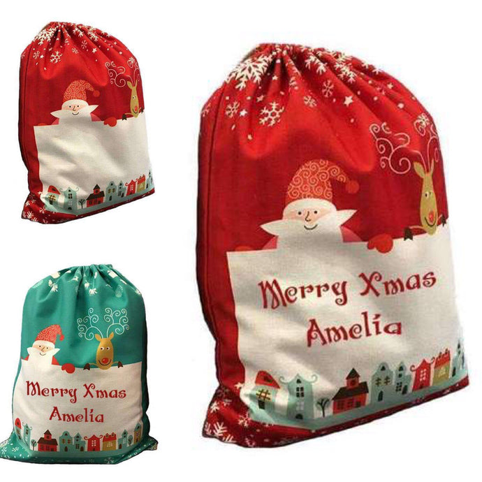 Christmas sack - personalised - Fred And Bo