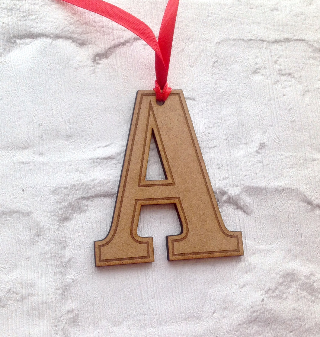 INITIAL Hanging decoration - Christmas decor bauble – Fred And Bo