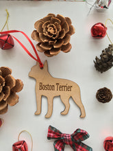 Personalised Dog Decoration - Boston Terrier - Fred And Bo