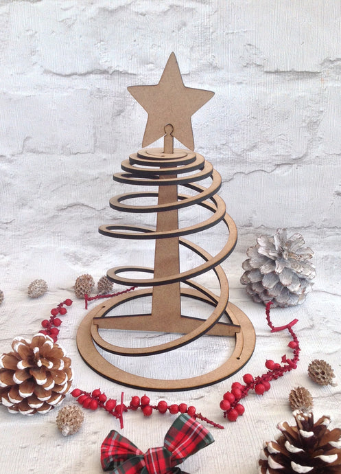 Spiral pop up Christmas tree - Fred And Bo