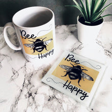 Mug & Coaster set- Bee happy - Fred And Bo