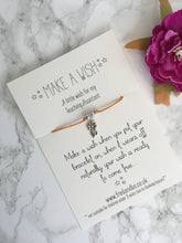 Wish bracelet - A little wish for my teaching assistant - Teacher gift - Wish bracelet - Fred And Bo