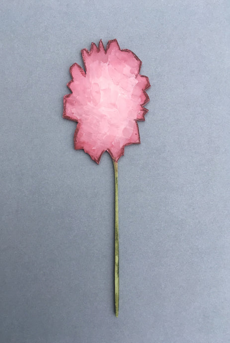 Pink Peony Laser Cut Flower - Fred And Bo