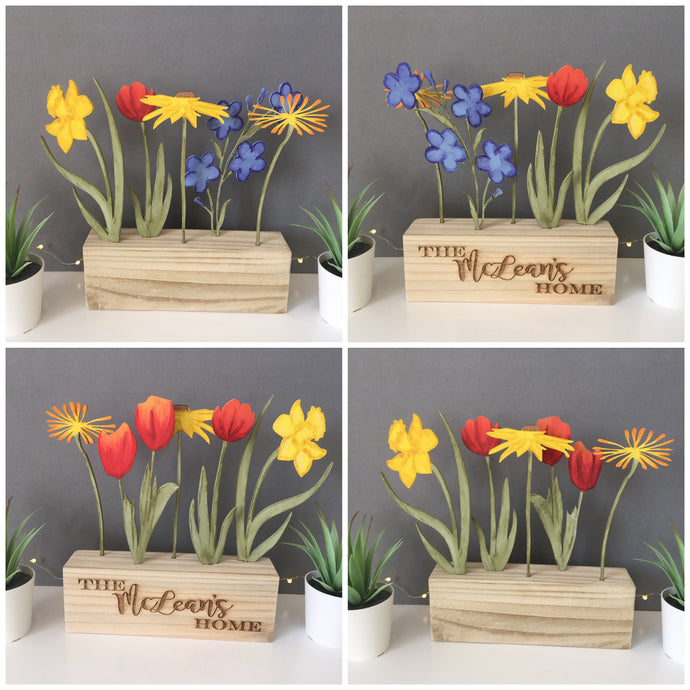 Mix & Match Flowers Window Box - Fred And Bo