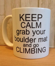Keep calm quote ceramic mug - Fred And Bo