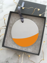Colour block - First Christmas - Ceramic Hanging Decoration - Fred And Bo