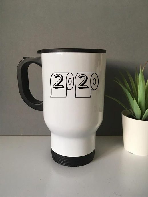 2020 Loo Roll Travel mug- personalised