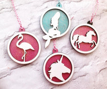 Unicorn bauble- Christmas decoration - Fred And Bo